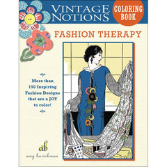 Fashion Therapy Coloring Book