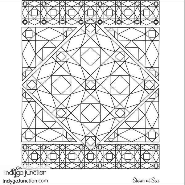 Quilt Therapy Coloring Book IMage
