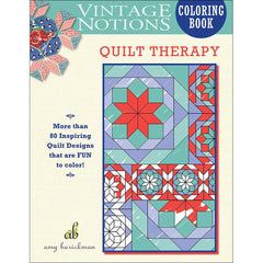 Quilt Therapy Coloring Book