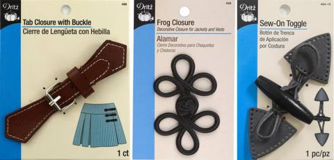 Dritz Sewing Closures