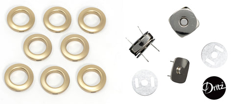 Fritz Sewing Grommets & Magnetic Snaps