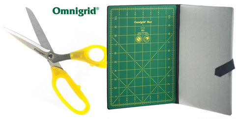 Omnigrid Fabric Scissors & FoldAway