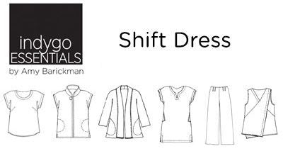 Indygo Essentials Shift Dress