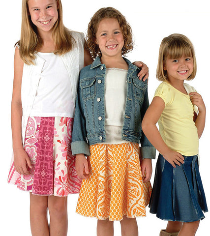 Indygo Junction Girly Gored Skirt pattern