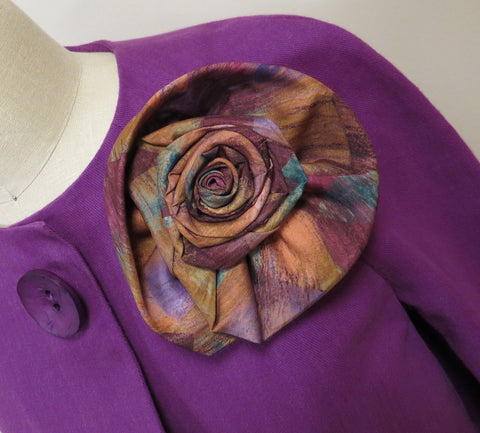Indygo Junction Turn-a-Tie Flowers pattern