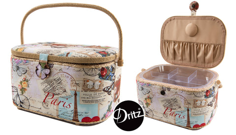 Dritz Sewing Basket Paris