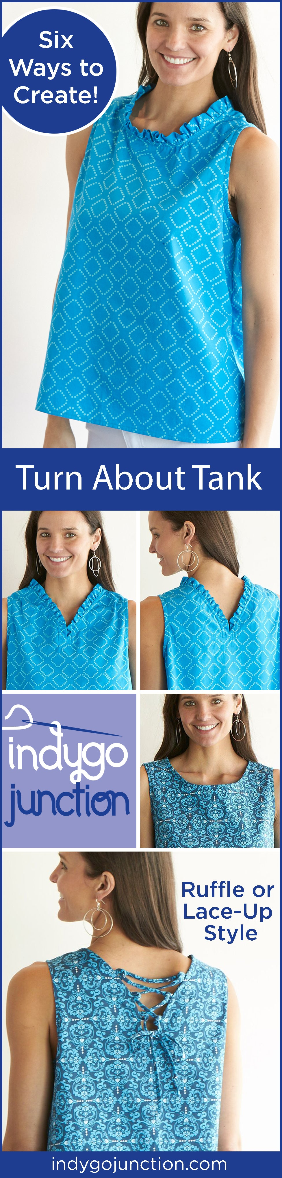 Indygo Junction's Turn About Tank is a stylish and breezy summer staple!