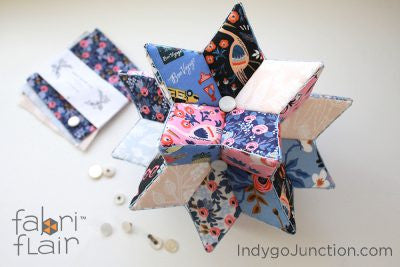 Cotton and Steel Rifle Paper Co Fabriflair Radiant Star Charm Pack