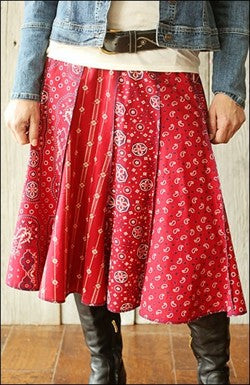 Great fit gored skirt