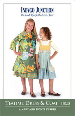 IJ820-2T Teatime Dress and Coat