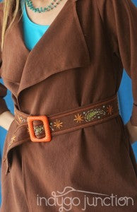 Indygo Junction's Stitched Style Venice Beach Belt