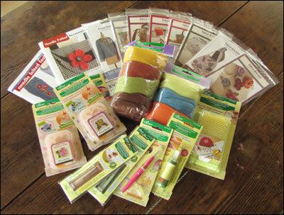 Needle Felting Giveaway Prize Pack from Clover Needlecraft