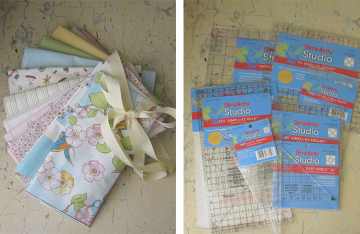 Quilting Prize pack from Indygo Junction, Red Rooster Fabric & Simplicity Creative Group
