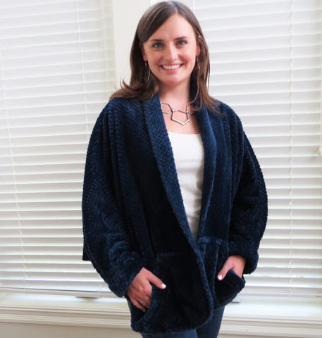 Indygo Junction Warm & Cozy Wrap pattern