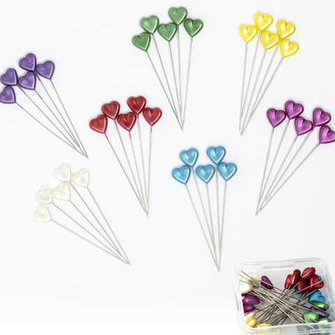 Dritz Heart Shaped Pins