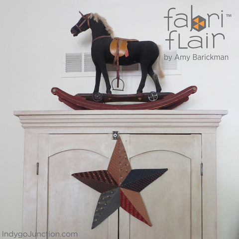 Fabriflair Wall Art Star In home setting