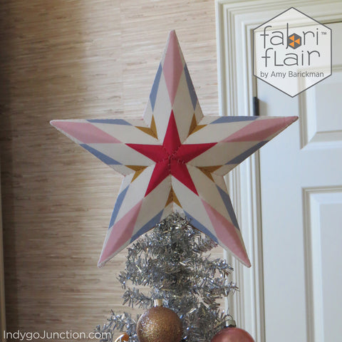 Radial Fabriflair Medium Tree Topper