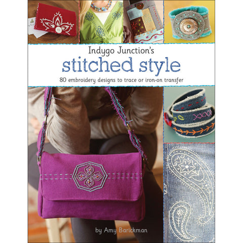 Stitched Style Embroidery Book