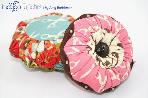 yo-yo pincushion