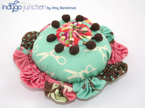 Yo-Yo pin cushion