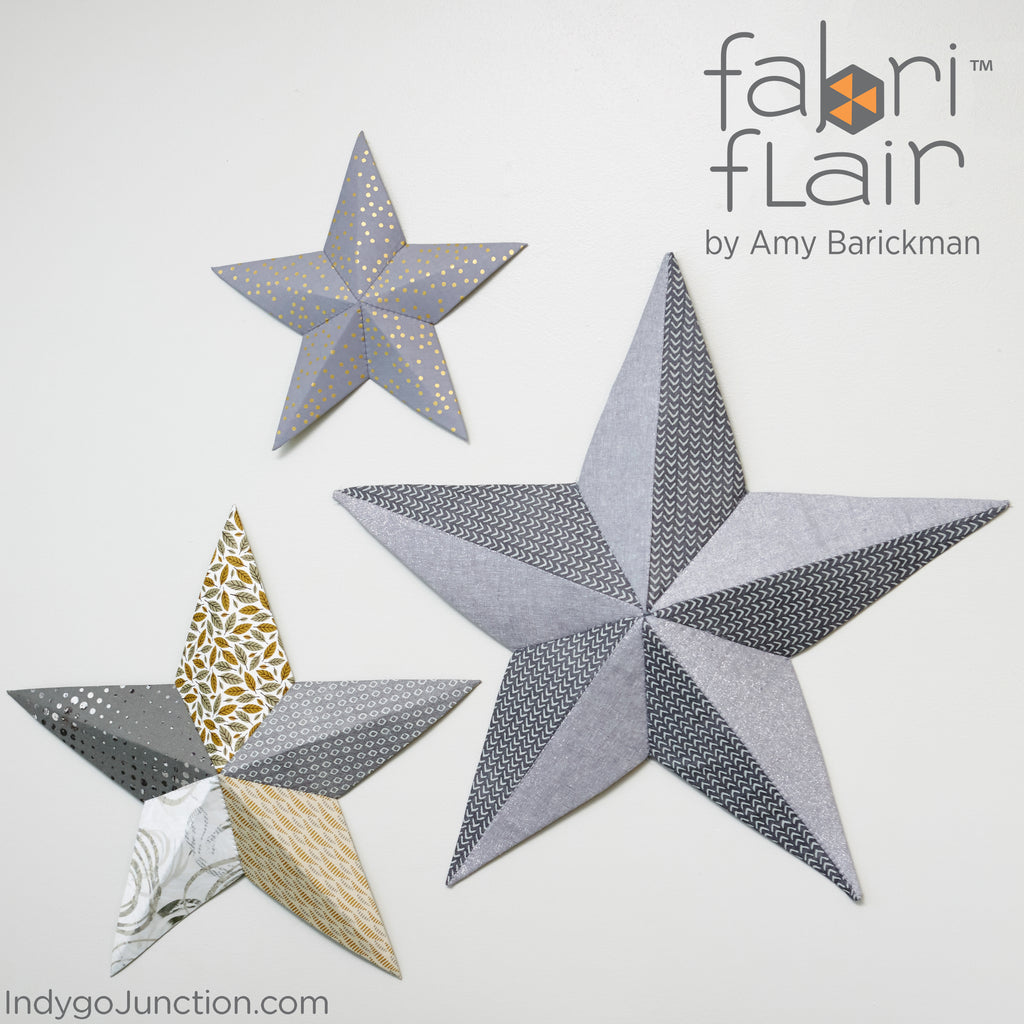 Star Wall Art Wall Art Star Fabriflair Pattern  Indygojunction