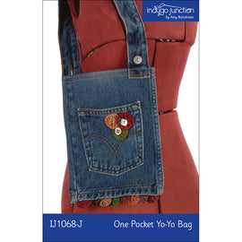 One Pocket Yo-Yo Bag Digital PDF Pattern