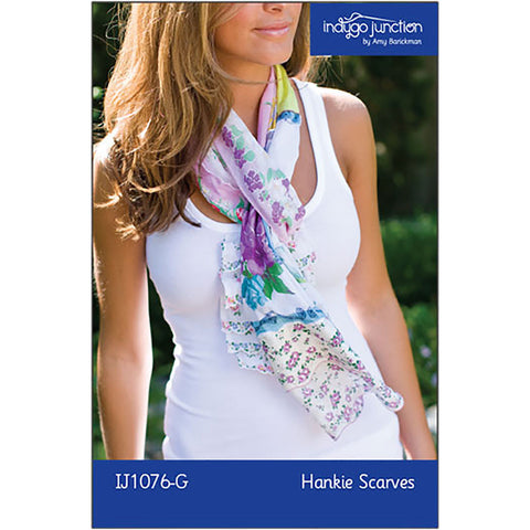 Hankie Scarves Digital PDF Pattern