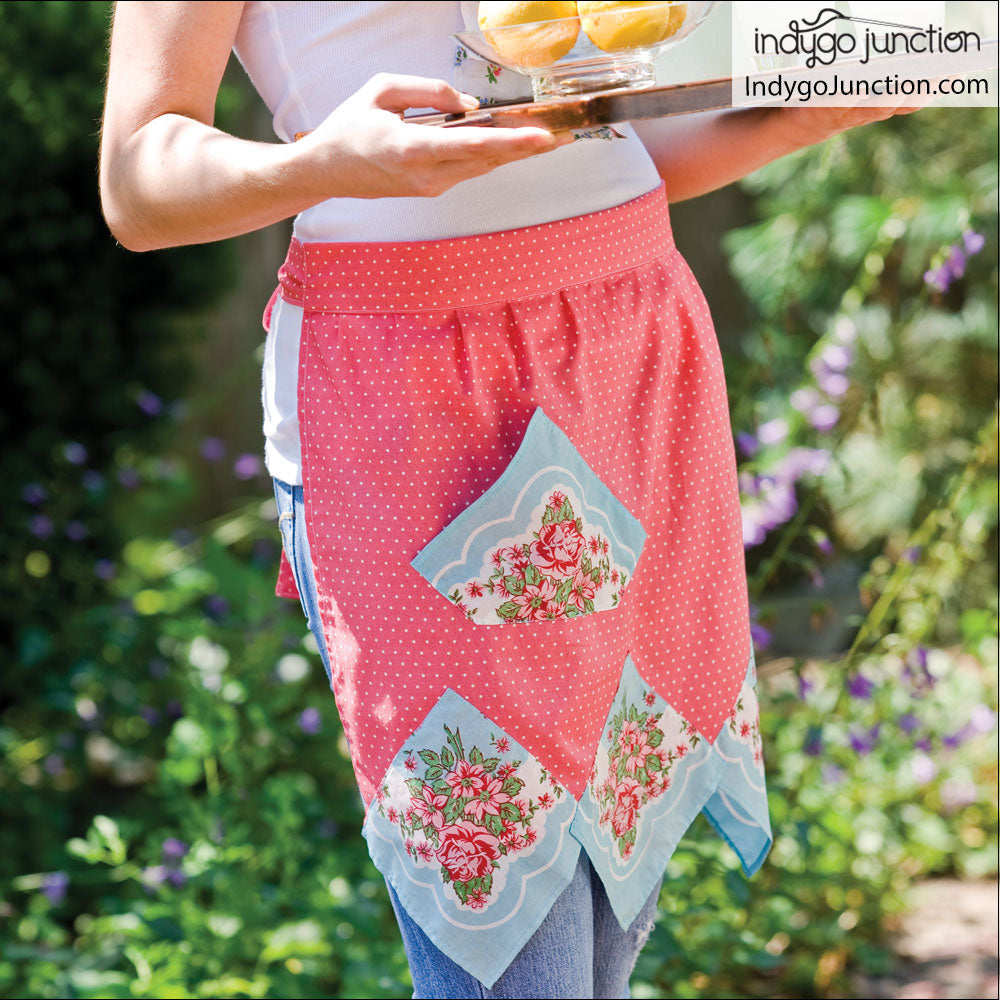 Hankie Apron Digital PDF Pattern