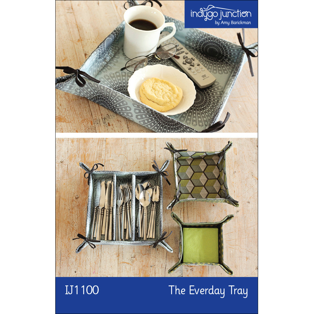 The Everyday Tray PDF Pattern