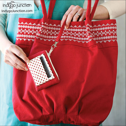 Stitched Top Tote Pattern