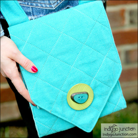 Quick Grommet Crossbody Purse PDF Pattern