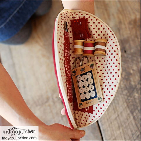 Store and Go Zipper Case Pattern