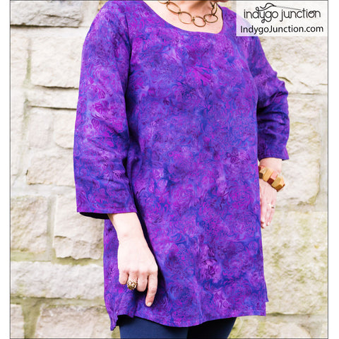 Gathered Back Top & Tunic Pattern