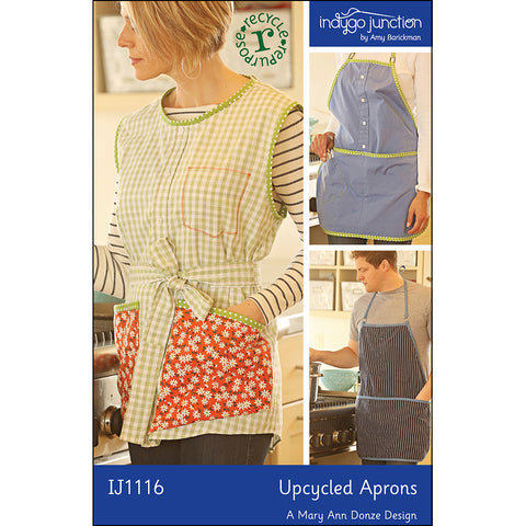 Upcycled Shirt Apron & Smock PDF Pattern
