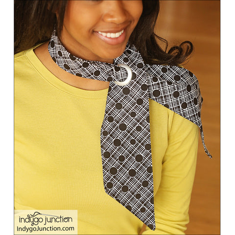 Slip-Thru Scarves Pattern