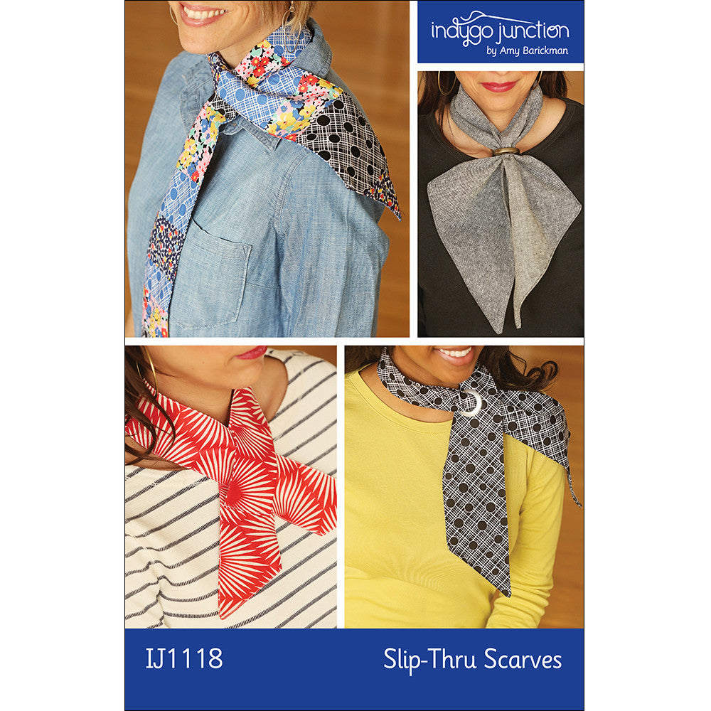 Slip-Thru Scarves PDF Pattern