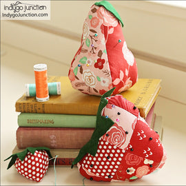Patchwork Pincushions PDF Pattern