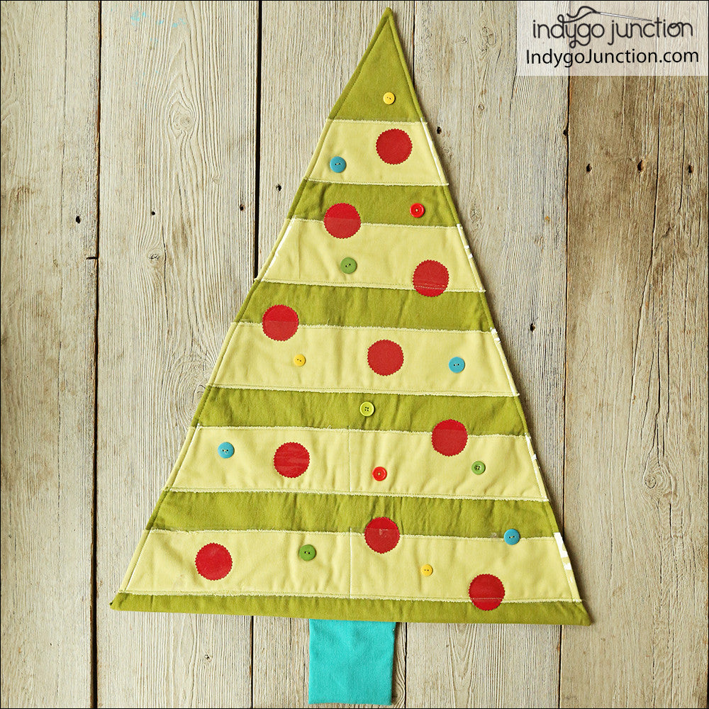 Christmas Card Trees sewing pattern by Indygo Junction – IndygoJunction