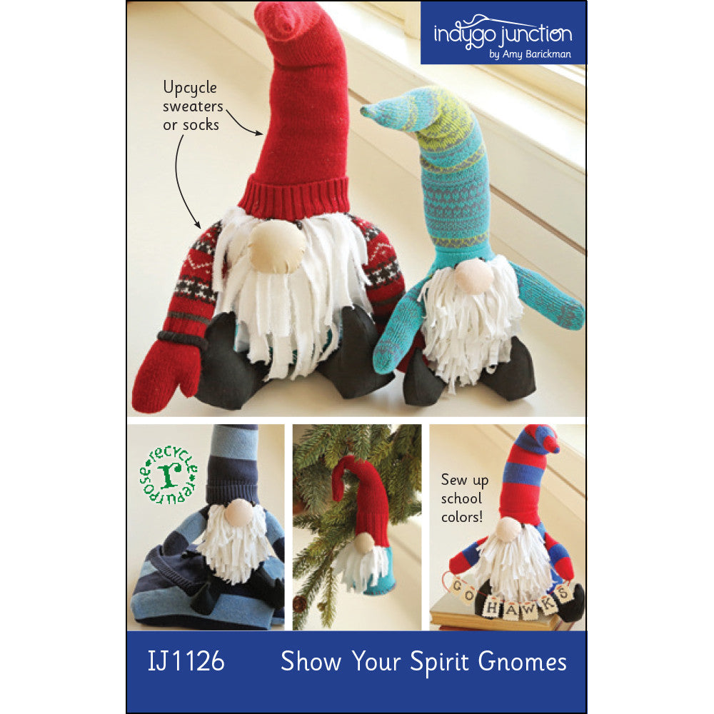 Show Your Spirit Gnomes Pattern
