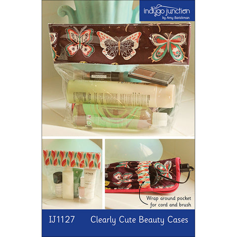 Clearly Cute Beauty Cases Pattern