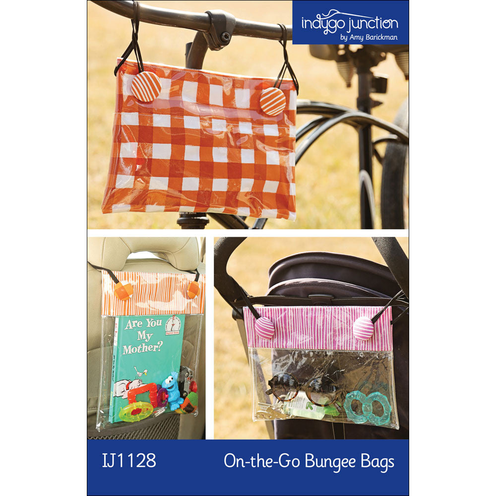 On-the-Go Bungee Bags PDF Pattern