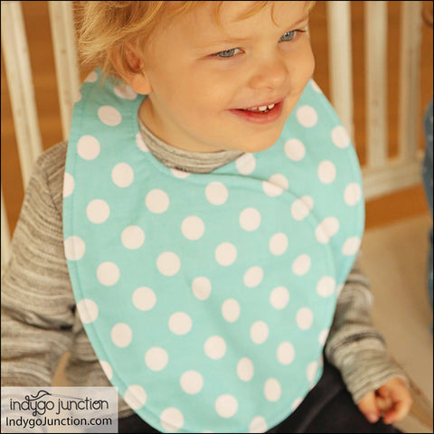 Reversible Crossover Applique Bibs Pattern