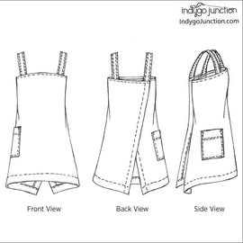 Origami Apron Pattern