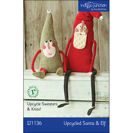 Upcycled Santa & Elf Pattern