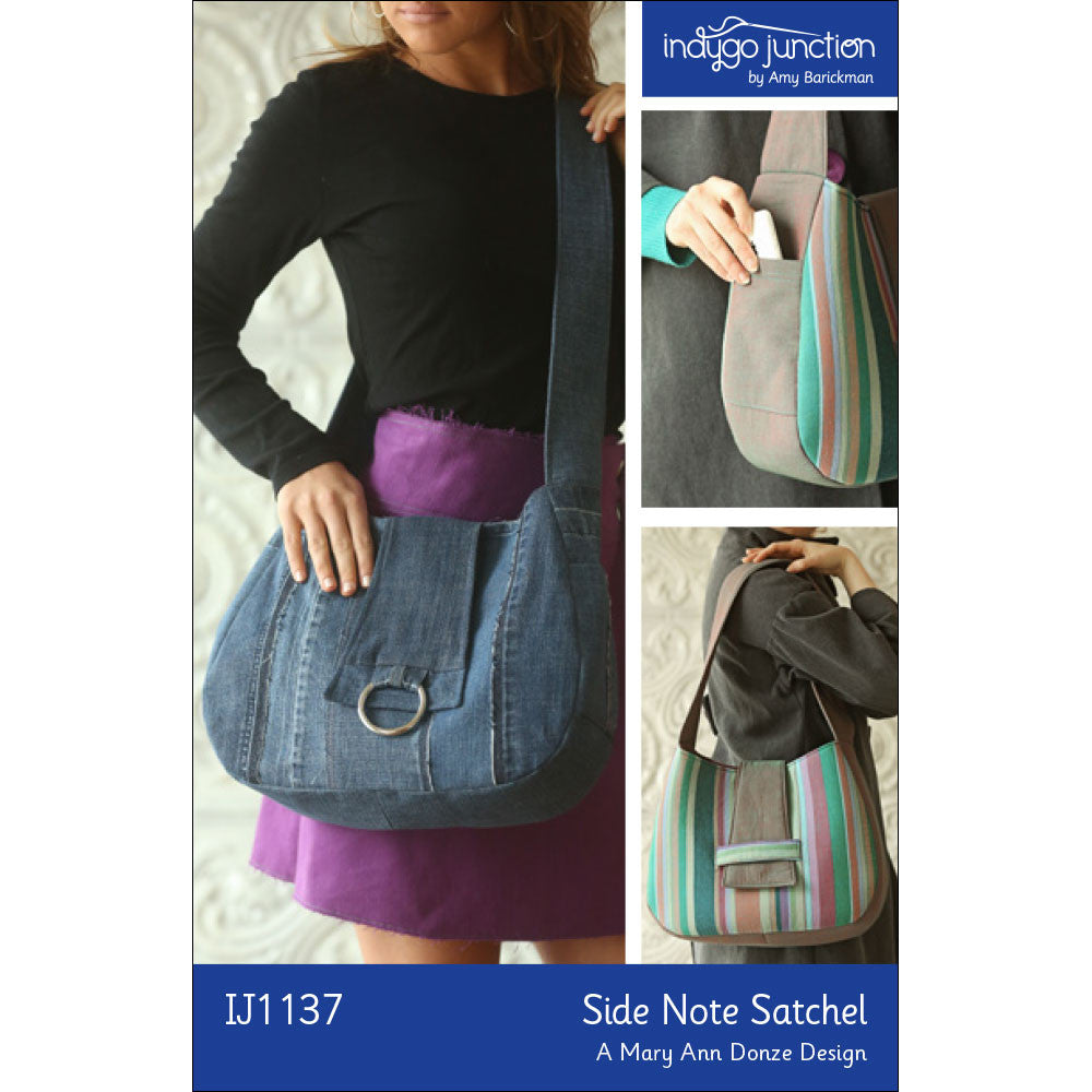 Side Note Satchel Pattern