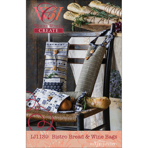 Bistro Bread & Wine Bag PDF Pattern