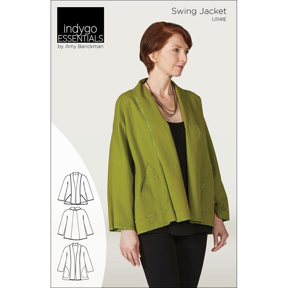 Swing Jacket By Indygo Essentials Indygojunction