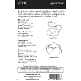 Origami Pouch Pattern