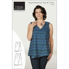 Indygo Essentials - Asymmetrical Top & Tunic Pattern