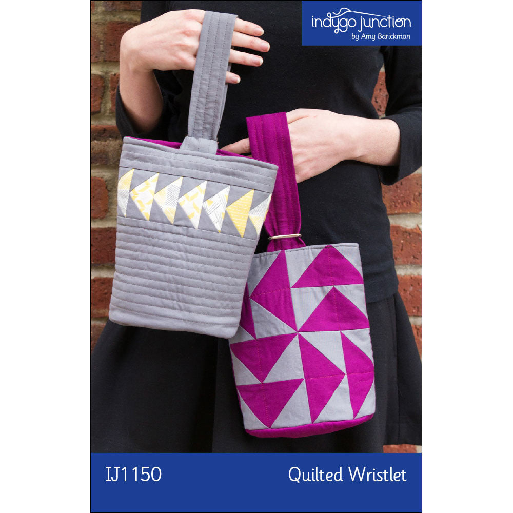 Quilted Wristlet By Indygo Junction Indygojunction